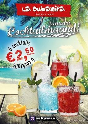 La Cubanita JAN 2018 ME Sde COCTELES FB POST v1
