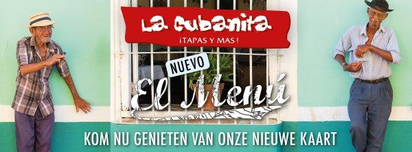 La Cubanita Nieuwe Menukaart 2018 FB Header big 851x315