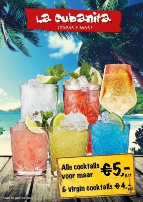 La Cubanita Cocktailkaart NIEUW 2019 WEB