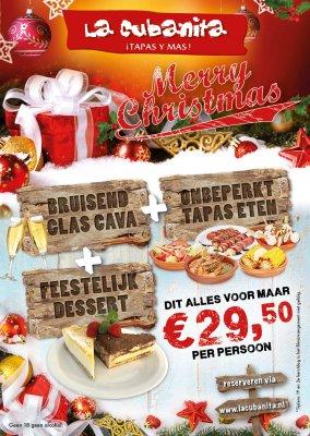 La Cubanita Kerstflyer 2017 WEB FB