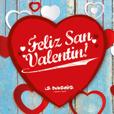 La Cubanita Valentijn 2018 insta Post