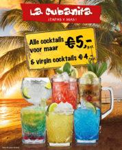 La Cubanita Cocktailkaart NIEUW 2020 FB Post 1